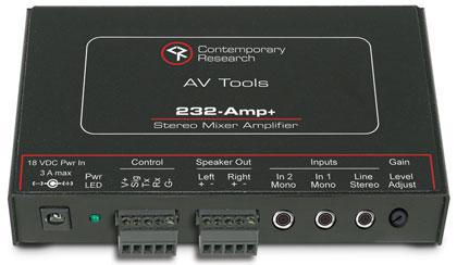 232-AMP+ Mixer Amplifier